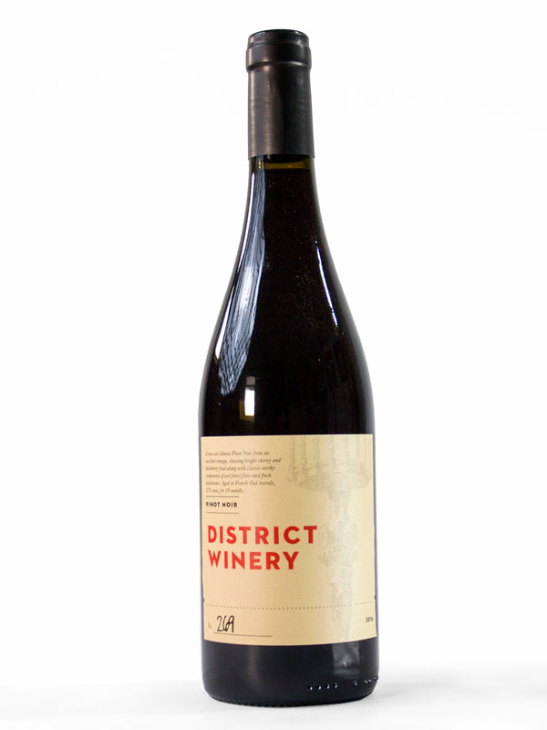 2016 District Winery Pinot Noir