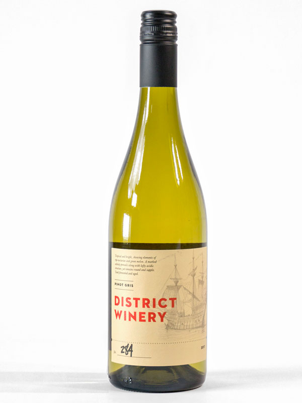 2017 District Winery Pinot Gris