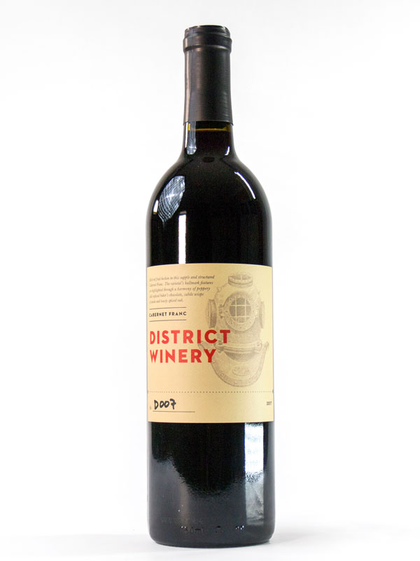 2017 District Winery Cabernet Franc