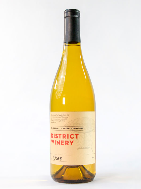 2017 District Winery Barrel Chardonnay