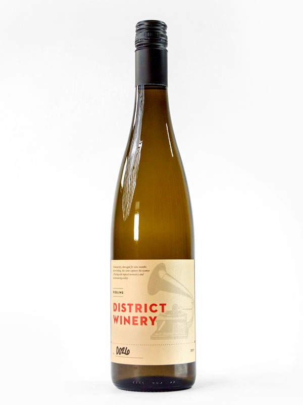 2017 District Winery Riesling