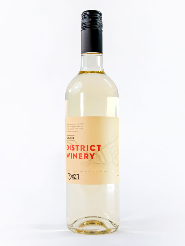2018 District Winery Albarino