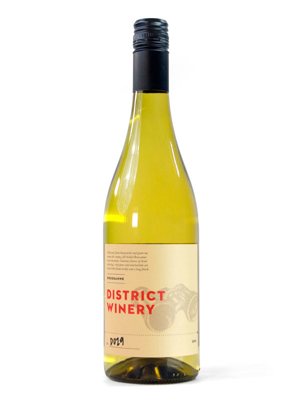 2018 District Winery Roussanne