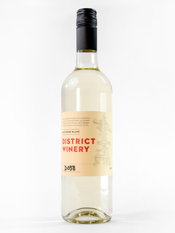 2018 District Winery Sauvignon Blanc