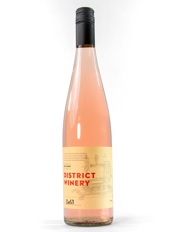 2019 District Winery Dry Rose