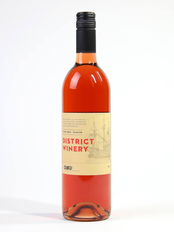 2019 District Winery Pinot Gris Ramato